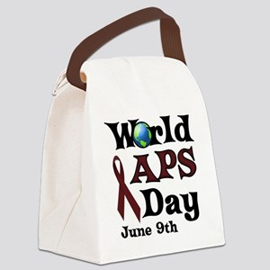June 9th is World APS Day Canvas Lunch Bag