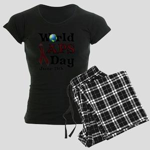 June 9th is World APS Day Women's Dark Pajamas