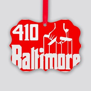 Baltimore,Md -- T-Shirt Picture Ornament