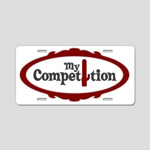 my competition22 Aluminum License Plate