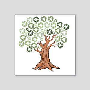 "fulltree Square Sticker 3"" x 3"""