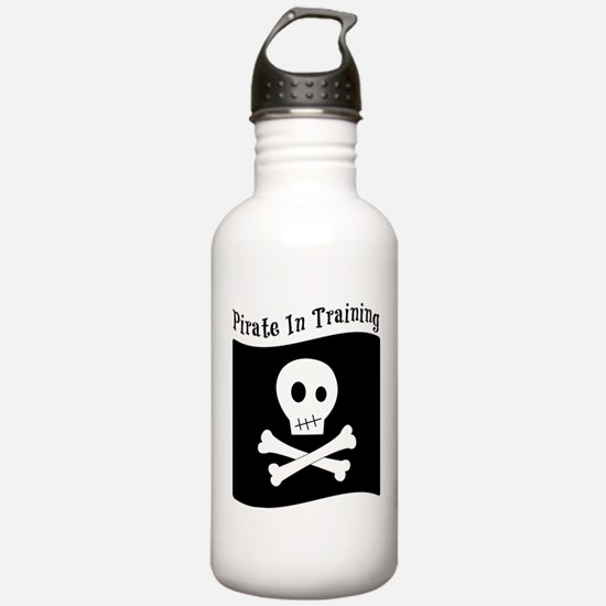 Pirate In Training Water Bottle