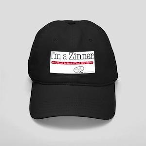 ImaZinner_0410wht Black Cap