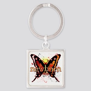 twilight newborn butterfly 2 copy Square Keychain