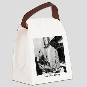 blindwilliejohnsonbig Canvas Lunch Bag