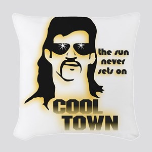 CoolTown Woven Throw Pillow