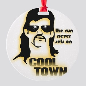 CoolTown Round Ornament