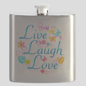 7-livelaugh Flask