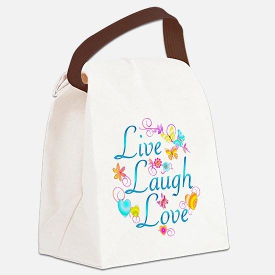 7-livelaugh Canvas Lunch Bag