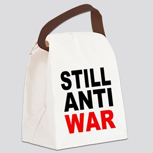 Still Anti War Canvas Lunch Bag