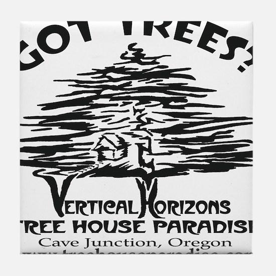 BLACK-LOGO-got-trees-copy-2 Tile Coaster