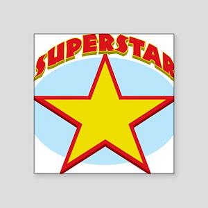 "Superstar Square Sticker 3"" x 3"""