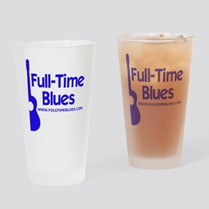2-full-time blues-logo-large-ALTERN Drinking Glass