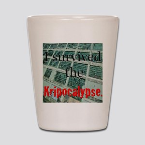 Kripocalypse 1 Shot Glass