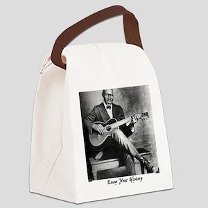 blindblakebig Canvas Lunch Bag