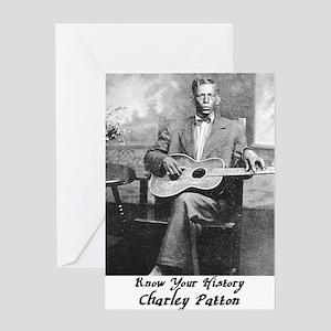 2-charleypattonbig Greeting Card