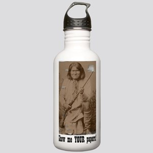 2-SepiaGeronimo Stainless Water Bottle 1.0L