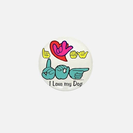 I_Love_DogFS Mini Button