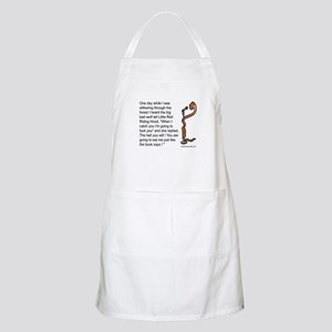 Little Red Wolf BBQ Apron