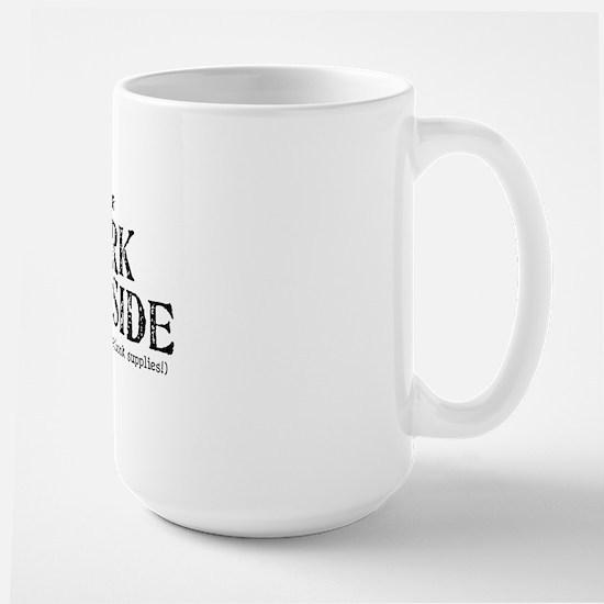 dark side-mid Large Mug
