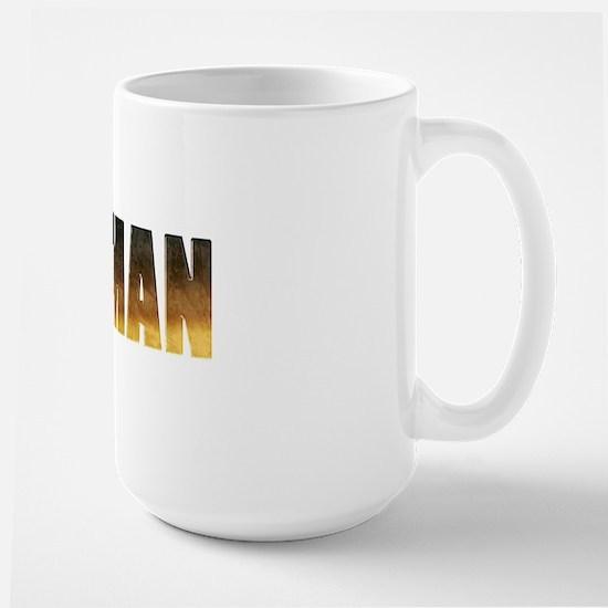 Fe Man Large Mug
