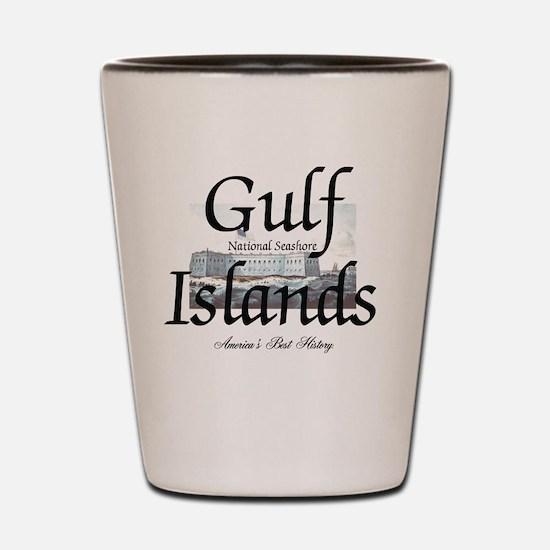 gulfislandsns Shot Glass