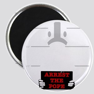arrestpope_black Magnet