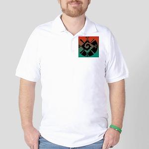 Hunab Ku Cafe Press5 Golf Shirt