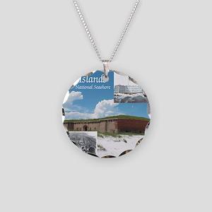 gulfislandsns1 Necklace Circle Charm