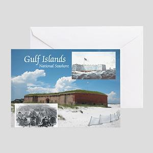 gulfislandsns1 Greeting Card
