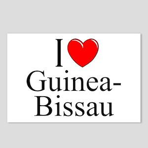 """I Love Guinea-Bissau"" Postcards (Package of 8)"