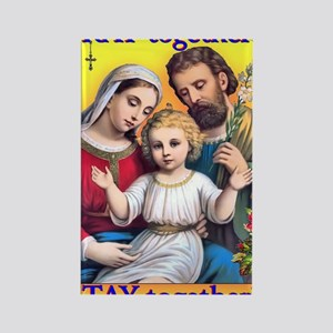 tote_family_pray Rectangle Magnet