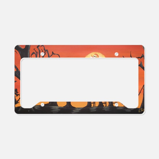witchygrad License Plate Holder
