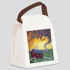 twister Canvas Lunch Bag