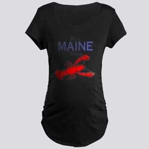 Its a Maine Thing Lobster Maternity Dark T-Shirt