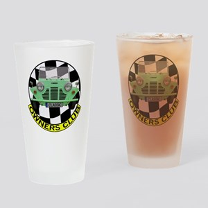 Owners green moke Drinking Glass