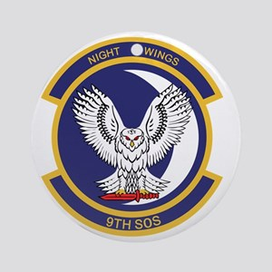9th_sos_night_wing Round Ornament