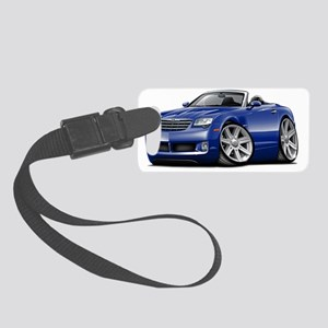 Crossfire Blue Convertible Small Luggage Tag