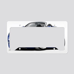 Crossfire Blue Convertible License Plate Holder