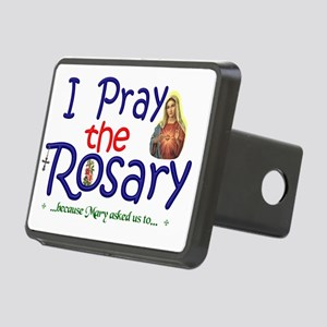 pray_21x14_sign Rectangular Hitch Cover