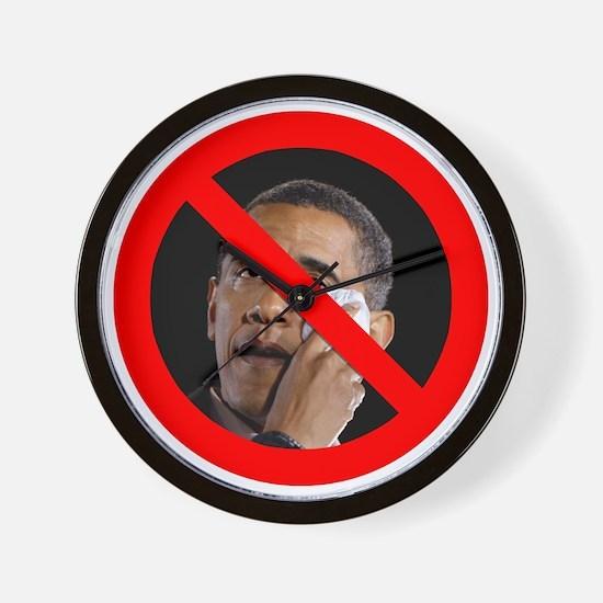 Anti-Obama Wall Clock