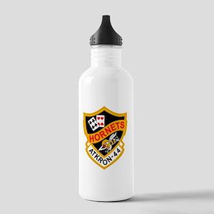 va-44_hornets Stainless Water Bottle 1.0L