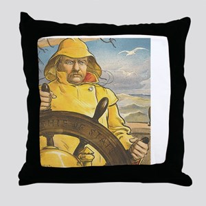seafarer1 Throw Pillow