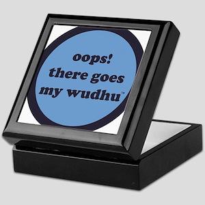 wudhu_blues Keepsake Box