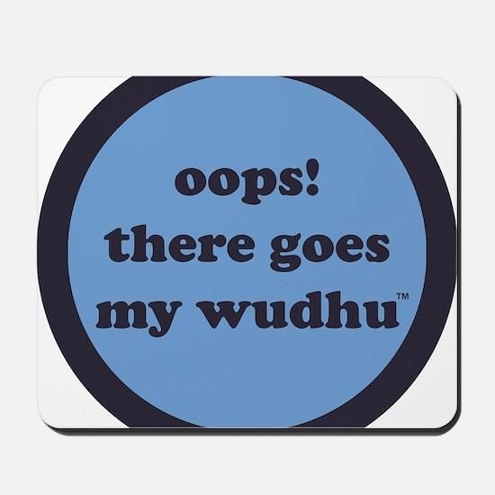 wudhu_blues Mousepad