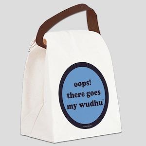 wudhu_blues Canvas Lunch Bag