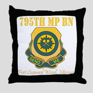 795thMPBNFLWTBlack Throw Pillow