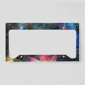 ChristmasPast License Plate Holder