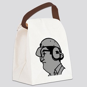 Use Hearing Protection Canvas Lunch Bag