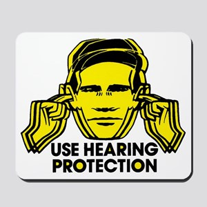 Use Hearing Protection Mousepad